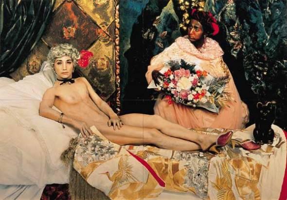 Portrait (Futago). Yasumassa Morimura. 1988