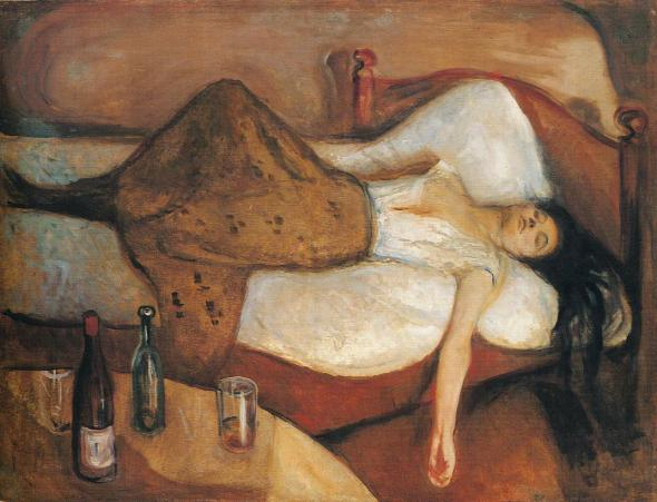 The Day After. Edward Munch.