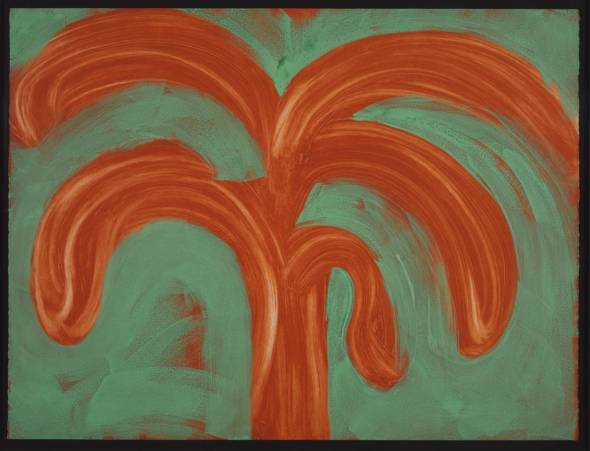 Indian Tree. Howard Hodgkin.  1990-1