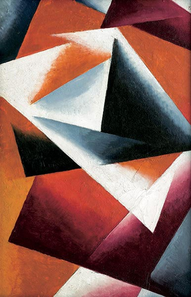 Painterly Architectonic. Lyubov Popova. 1918