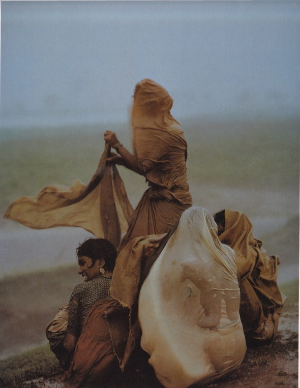 Monsoon Women, Bihar, India. Raghubir Singh. 1966.