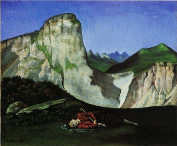 Summertime. Balthus. 1935.