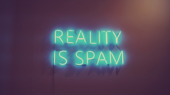 Enrique Baeza Reality is Spam from Me & the Curiosity Barcelona