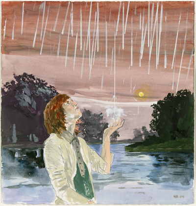 The Start of the Rain. Hernan Bas. 2004
