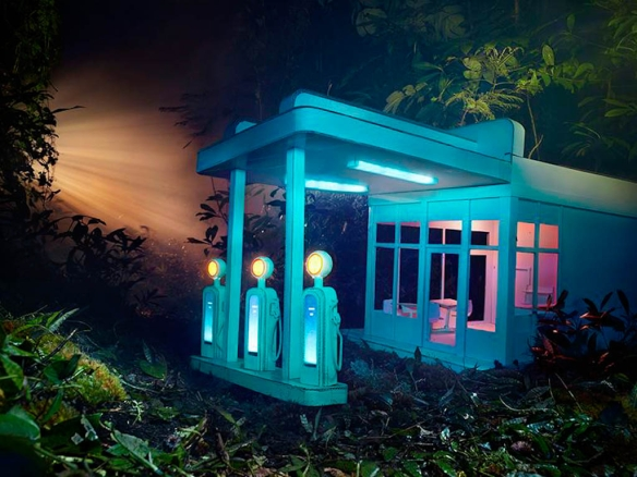 Gas Station. David LaChapelle. 2012