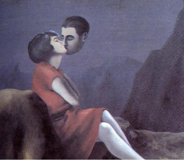 Love From a Distance. Renee Magritte