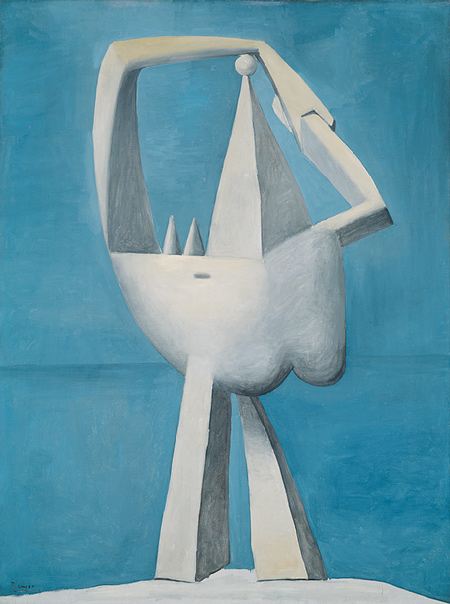 Nude Standing by the Sea. Pablo Picasso. 1929
