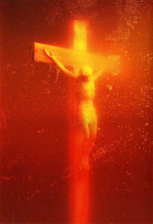 Piss Christ. Andres Serrano. 1987.