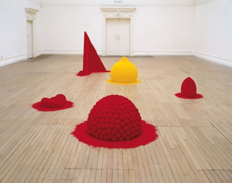 To Reflect an Intimate Part of the Red. Anish Kapoor. 1981