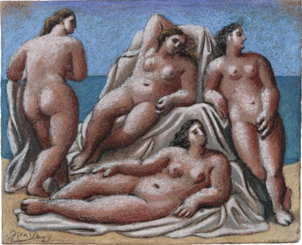 picasso__group_of_female_nudes