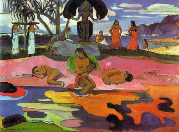 A Day of No Gods. Paul Gauguin. 1894