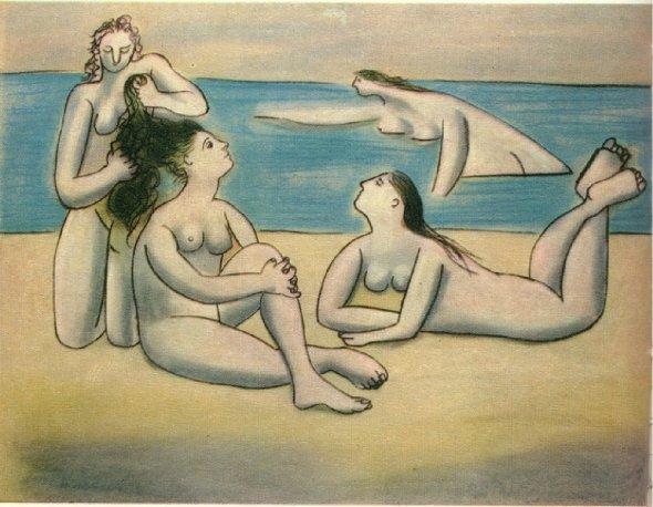 Bathers, Pablo Picasso, 1920