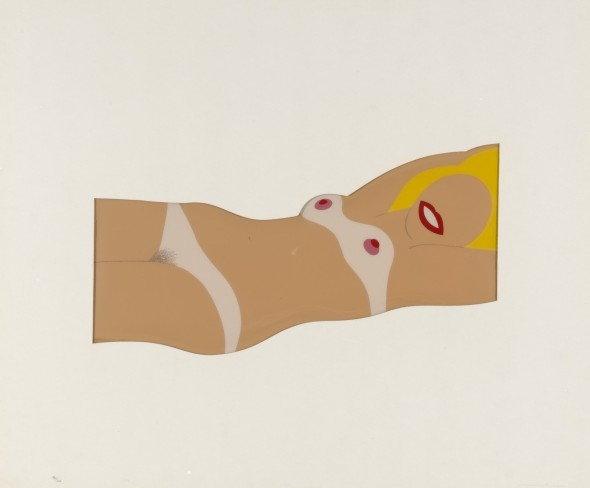 Cut-out Nude from 11 Pop Artists, Volume I Tom Wesselmann 1965