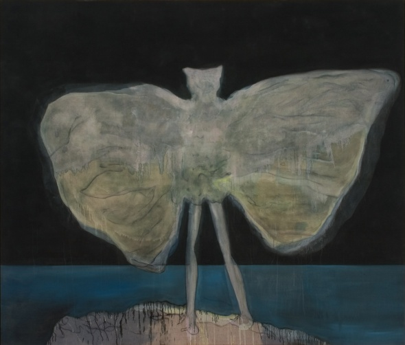 Man Dressed as a Bat (Night), Peter Doig, 2007