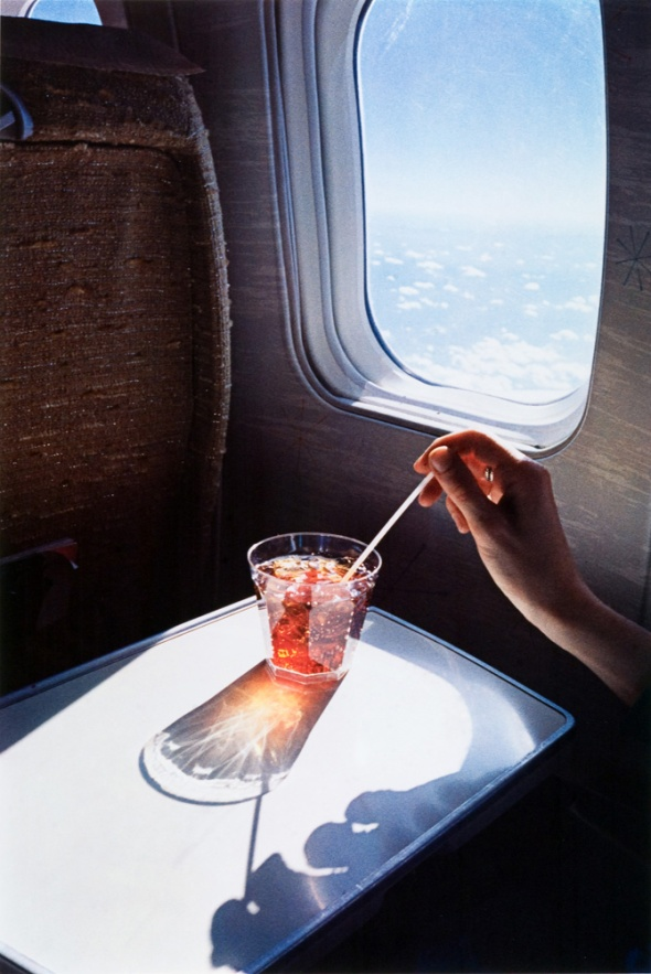 William Eggleston, Untitled, (Glass in Airplane), from the Los Alamos Portfolio, 1965 - 74