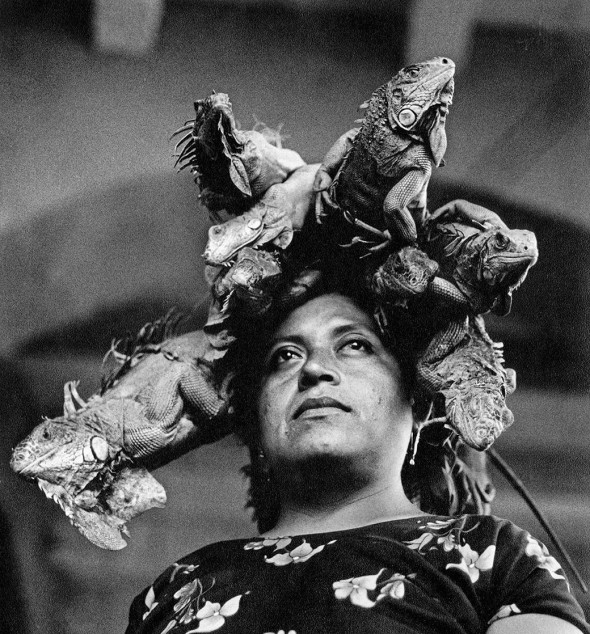 Nuestra Señora de las Iguanas by Graciela Iturbide