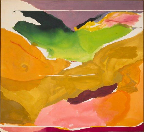 Nature Abhors a Vacuum. Helen Frankenthaler. 1973.