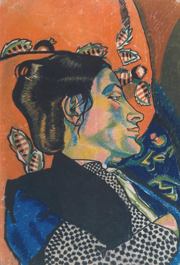 Sophie Brzeska 1913 by Henri Gaudier-Brzeska 1891-1915