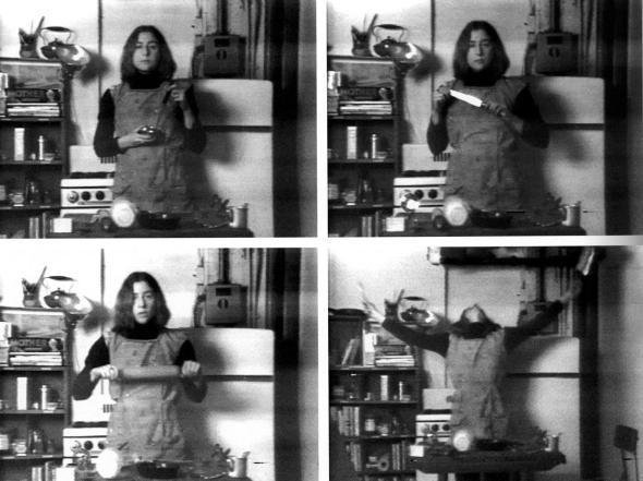 Semiotics of th5e Kitchen, Martha Rosler, 1975