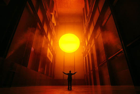 The Weather Project, Olafur Eliasson, 2003. Photo by Dan Chung