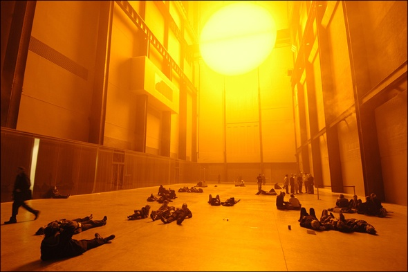 The Weather Project, Olafur Eliasson, 2003.