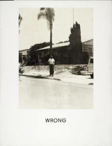wrong-1967 Baldessari
