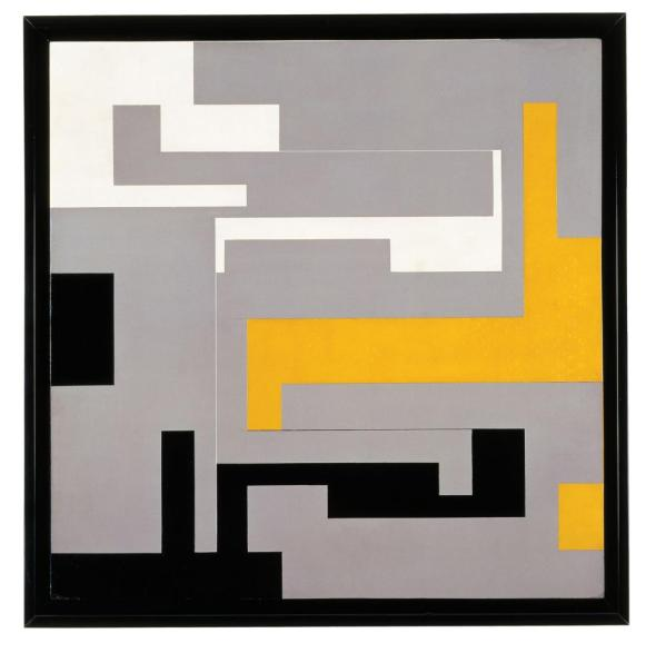 Modulated Composition, Willys de Castro, 1954