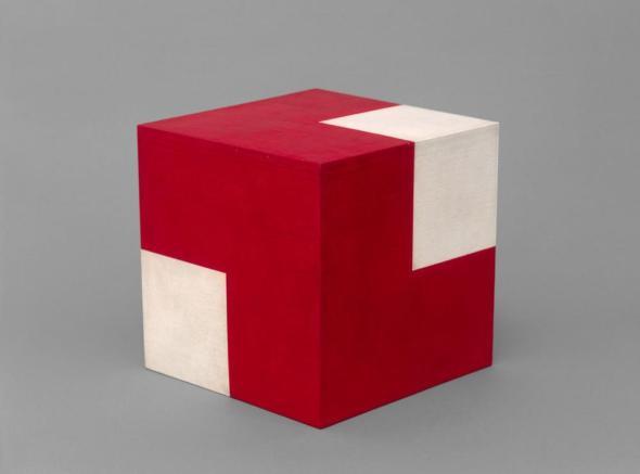 Objeto Ativo (Cubo Vermelho/Branco), Willys de Castro, 1962